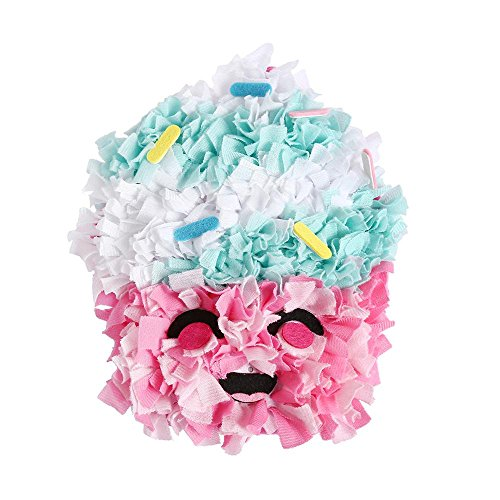 DIY Crafts Kits,Sew and Stuff Kit,Cloth Crocheted Shaggy Plush Pillows Entertainment Crafts Kits for Kids and Adults Cushions Case For Kids Room, Sofa, (Masterpiece Doll Eyes)