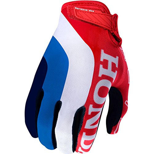 (Troy Lee Designs Air Honda Men's Off-Road Motorcycle Gloves - Red/White/Large)