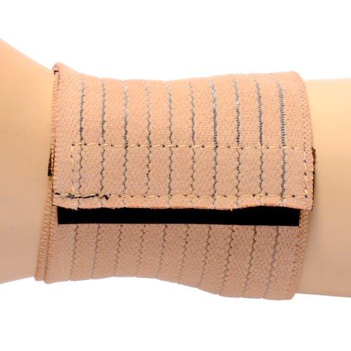 Wrist Support Wrap Around Wrist Elastic Black