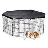 Lucky Dog ZW 12624 Pet Kennel, 24'' x 6', Black