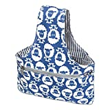 Teamoy Knitting Tote Bag(L12.2''×W7.5''), Travel Canvas Project Wrist Bag for Knitting Needles(up to 11 inches), Yarn and Crochet Supplies,Perfect Size for Knitting on The Go(Small, Sheep)