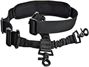 2 Point Sling Rifle Slings Gun Strap with Shoulder Pad Adjustable Longest 5.5ft Multi-Use for Hunting Shooting