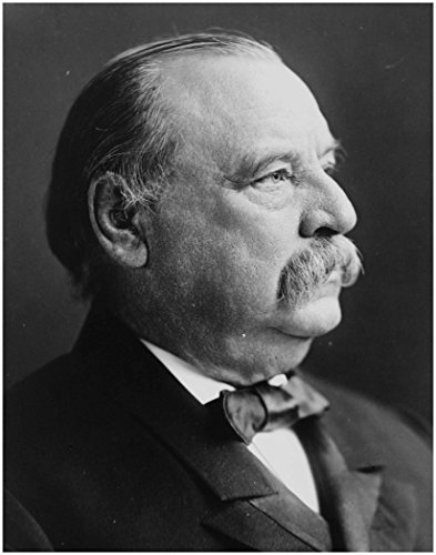 "GROVER CLEVELAND ~ Official Historic Presidential White House Photo (8""×10"" print)"