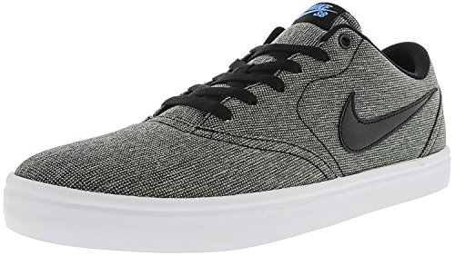 Multicolore Check Blue 004 Nike da Black Skateboard Photo White Black Solarsoft Uomo Skateboardschuh Scarpe Canvas ZU8WB4