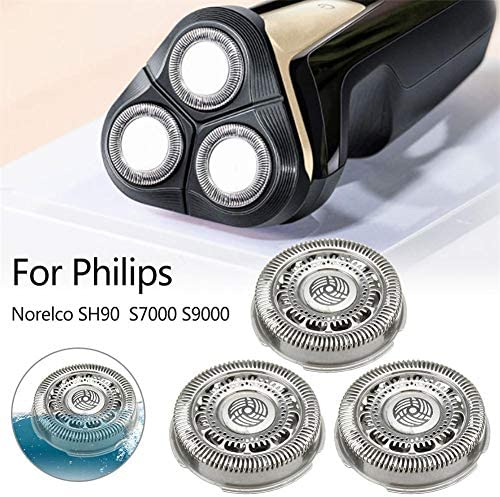 Dedeka 3 x Cabezales de Repuesto Philips Norelco SH90 S7000 S9000 ...