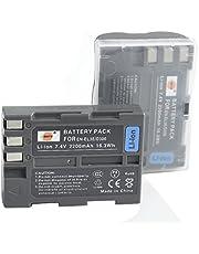 DSTE® 2x EN-EL3e Li-ion Batería para Nikon D30, D50, D70, D70S, D90, D80, D100, D200, D300, D300S, D700