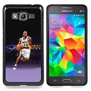 - Laker 24 Basketball - - Cubierta del caso de impacto con el patr??n Art Designs FOR Samsung Galaxy Grand Prime G530H G5308 Queen Pattern