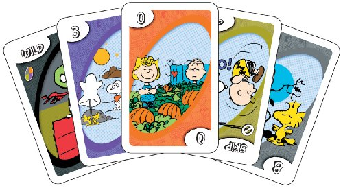 - It's the Great Pumpkin Charlie Brown Uno Edition