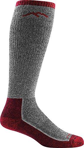 (Darn Tough Mountaineering OTC Extra Cushion Sock - Men's Smoke Large)