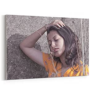 Westlake Art - Model Photography - 12x18 Canvas Print Wall Art - Canvas Stretched Gallery Wrap Modern Picture Photography Artwork - Ready to Hang 12x18 Inch (AFF2-A09B2)