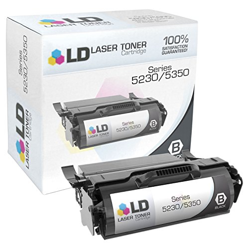 - LD Remanufactured Toner Cartridge Replacement for Dell 330-6968 F362T (Black)