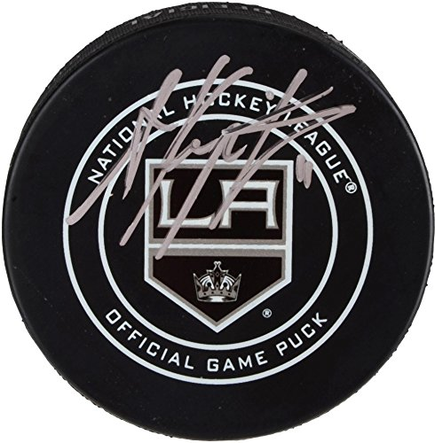 Anze Kopitar Los Angeles Kings Autographed Official Game Puck - Fanatics Authentic Certified - Autographed NHL Pucks