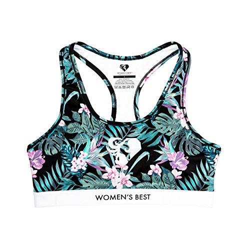 Sport-BH für Damen in tollem Design | Büstenhalter, Fitness-BH für Frauen mit starkem Halt | Bequemer Schnitt für eine tolle Figur | WOMEN'S BEST BHs, Bustier - PARADISE (M)
