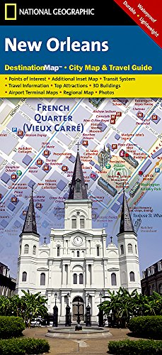 New Orleans (National Geographic Destination City Map)