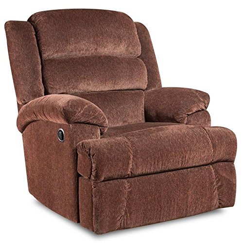 Flash Furniture AM-9960-7921-GG Big and Tall Capacity Microfiber Recliner, 350-Pound, Aynsley Claret
