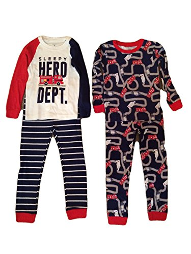 Carter's Boys' 2t-5t 4-pc. Hero Snug Fit Cotton Pajama Set 5t