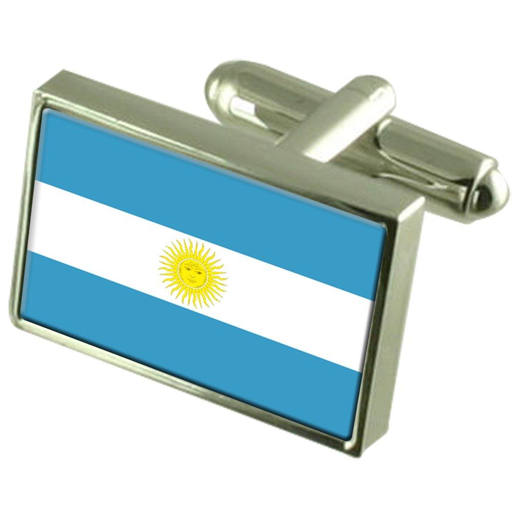 Argentina Argentina Bandera Para Hombre Gemelos Regalo Grabado