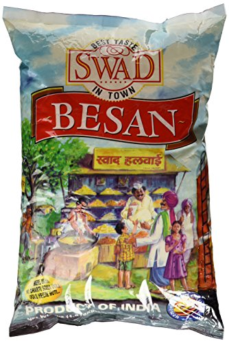 (Swad Besan (Gram or Chick Pea Flour) - 4lb, Indian Groceries)