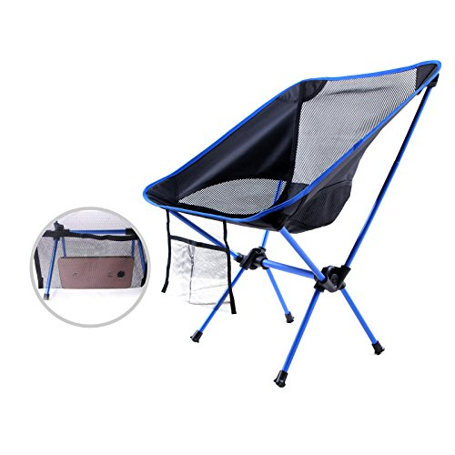 Style Of FiveJoy Ultralight Camp and Sports Folding Chair Easy Setup Portable Durable 220lbs Lightweight pact for Picnic Backpacking Camping Concerts New Design - Model Of comfy fold up chairs Beautiful
