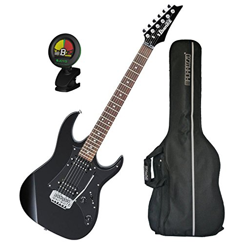 Ibanez GRX20 Electric Guitar (Black Night) w/ Gig Bag and Tuner!