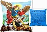 San Miguel Arcangel Angel Almohada de Oracion Santo