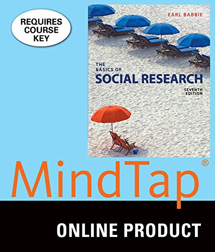 MindTap Sociology for Babbie's The Basics of Social Research, 7th Edition
