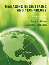 Managing Engineering and Technology (5th Edition)