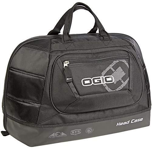 (OGIO 121009.36 Stealth Black Head Case Motorcycle Helmet)