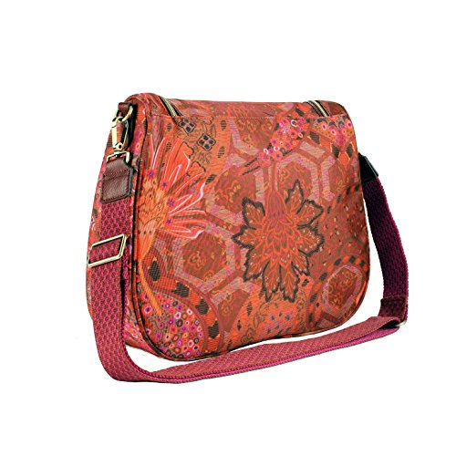 Oilily Paisley M Shoulder Bag Cinnamon