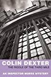 Front cover for the book The Riddle of the Third Mile by Colin Dexter