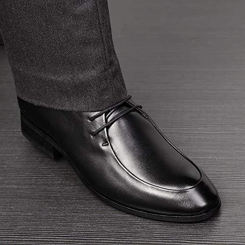 Marrone Guida Casual Lavoro Primavera Da Black Nero In Formale Pelle Lace Autunno Formale Da Uomo Up Scarpe Comfort Traspirante Scarpe USRvB