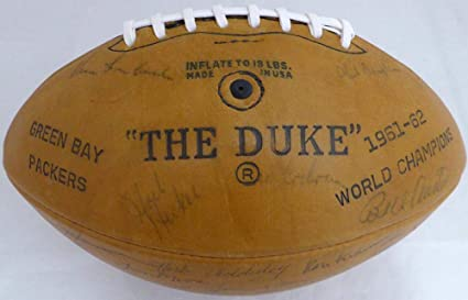 ff4b3b1eede Signed Vince Lombardi Football - 1963 Team 49 Signatures Including Beckett  BAS #A89074 - Beckett