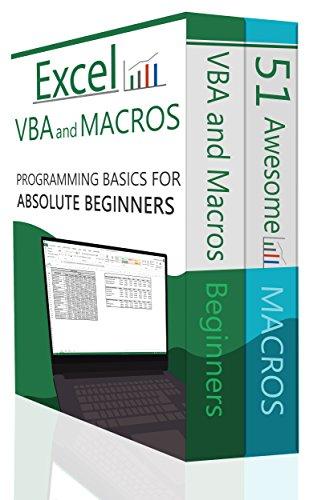 excel vba bundle 2 books excel vba and macros and 51 awesome rh amazon com Excel VBA On Books Access 2010 VBA Books