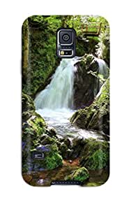 S5 Scratch-proof Protection Case Cover For Galaxy/ Hot Waterfall Phone Case