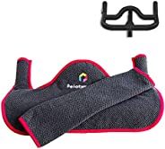 Handlebar Sweat Protection Towel Compatible for Peloton Spin Bike | Super-Absorbent, Quick-Drying to Keep Your