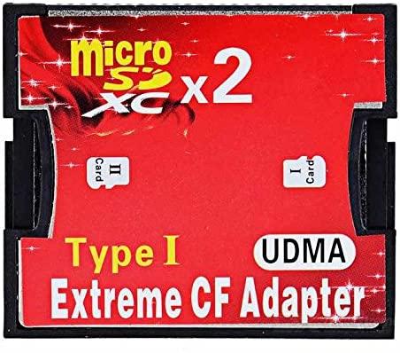 CY de doble ranura TF o microSD Micro SD a tipo I adaptador ...
