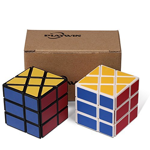 Black Cube Collection - Playwin® New Wheel Puzzle Cube Collection(white & Black)