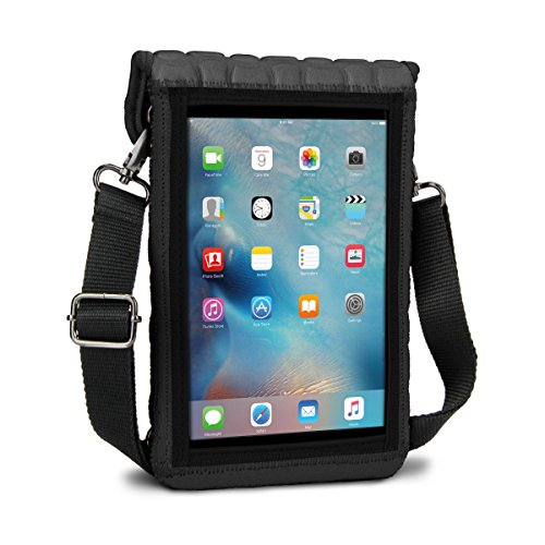 iPad Mini 4 Case Protective Carry Cover by USA Gear  Built-I