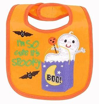 koala baby im so cute its spooky halloween bib