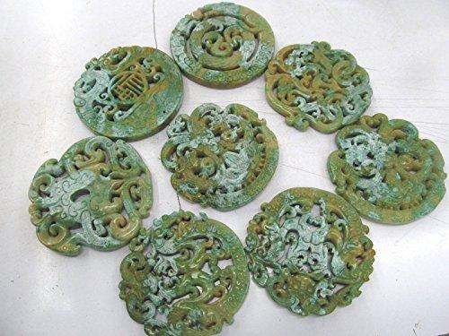 Jade Disc Beads - 7