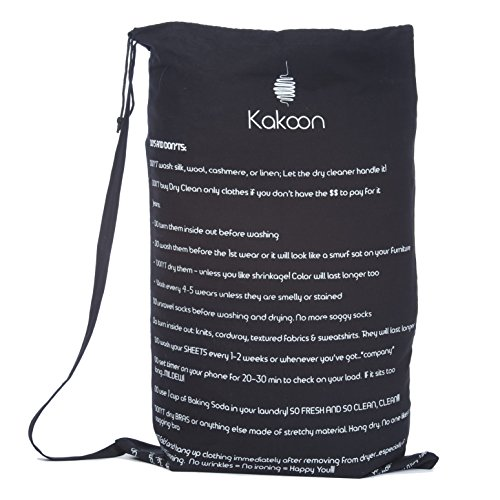 Free Shipping Kakoon Extra Large Drawstring Laundry Bag