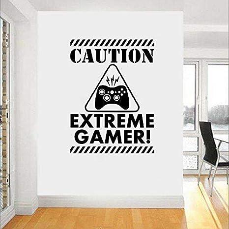Juego Asa Etiqueta Eat Sleep Play Gamer Calcomanía Gaming Posters ...