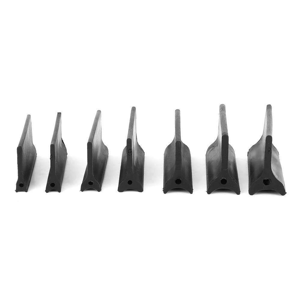 und Winkelschleifgriffe Gummi-Winkelschleifpads Konturschleifgriffe mit zwei Enden 14 St/ück Kontur