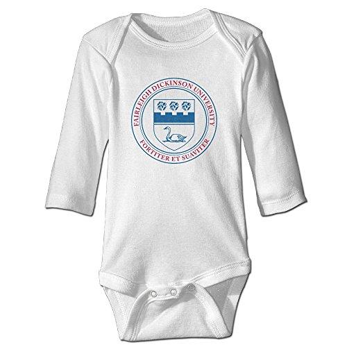 Funny Vintage Unisex Fairleigh Dickinson University Baby Costume Newborn