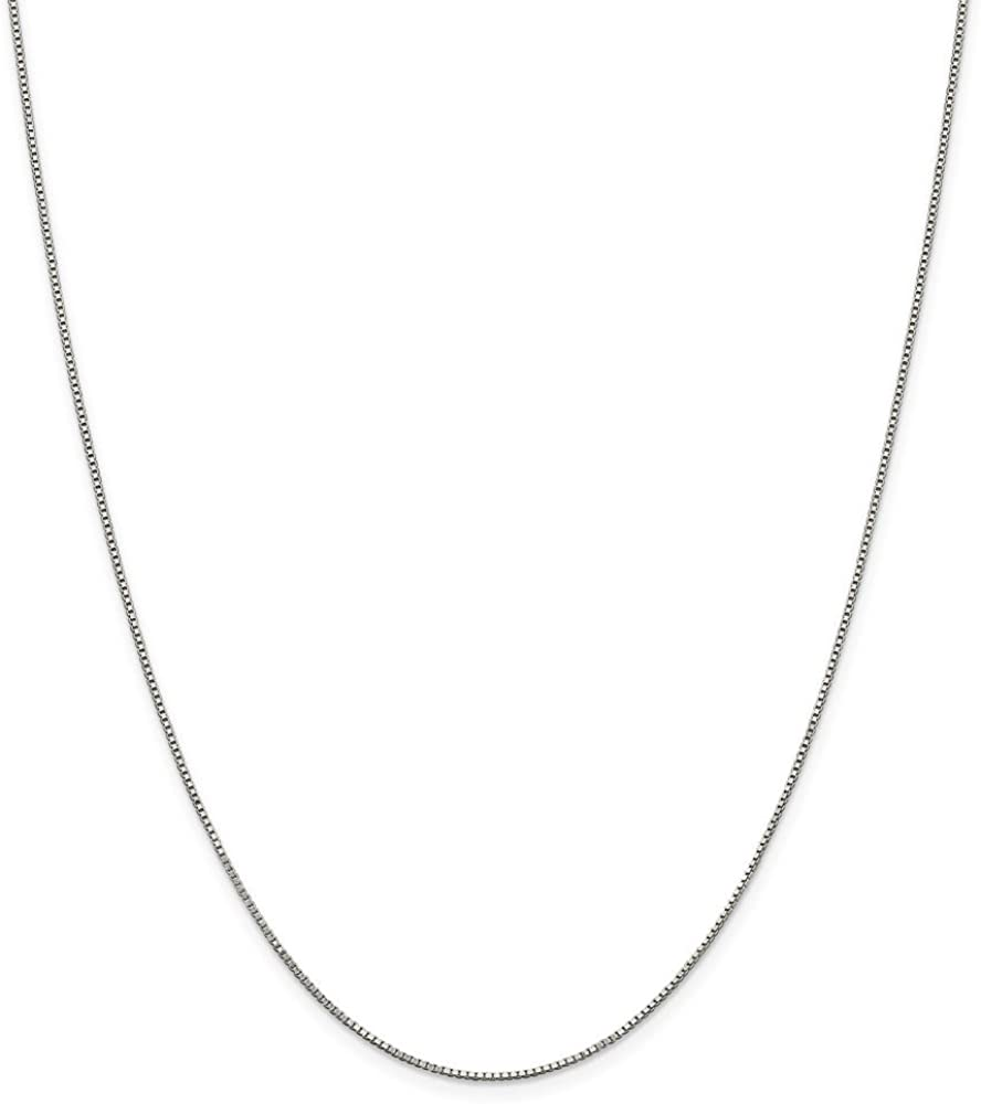 16-20 Mireval Sterling Silver Enameled Christmas Tree Charm on a Sterling Silver Chain Necklace