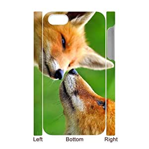 WJHSSB Diy hard Case Fox customized 3D case For Iphone 4/4s