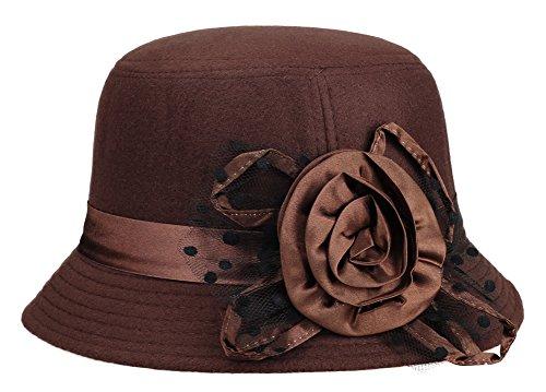 il-caldo-womens-fur-retro-winter-hat-fascinatorsdark-coffee
