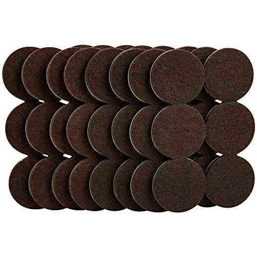 SoftTouch 4758595N Furniture Felt Pads Round 1-1/2