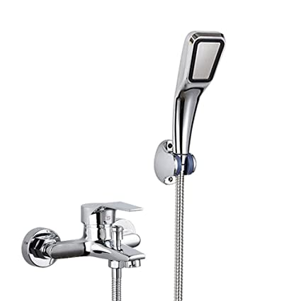 Bijjaladeva Antikes Waschbecken Ducha de cobre grifo bañera ducha baño oculto triple calentador de agua eléctrico