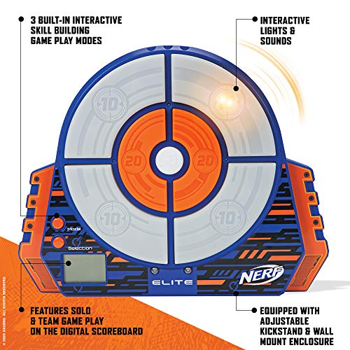 NERF Elite Digital Target Toy, Standard